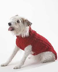 crochet pattern for dog coat ravelry dog coat crochet pattern by bernat design studio
