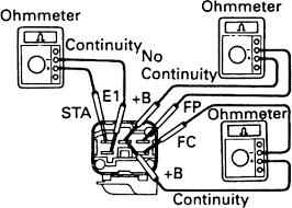 100 denso relay wiring diagram cranking charging and gauge