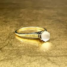 Moonstone Wedding Ring by Best Moonstone Engagement Ring Products On Wanelo