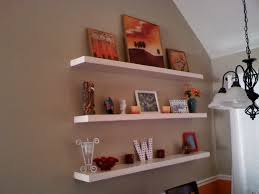 Build Wall Shelves Without Brackets by Decorations Marvellous How To Hang Floating Shelves Without