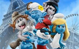 smurfs the lost village wallpapers smurfs 3 the lost village 2017 wallpaper 3840x1200 multi