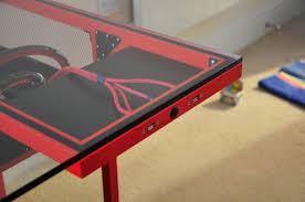 Diy Glass Desk Project Sr 2 Desk Page 28 Overclock Net An Overclocking