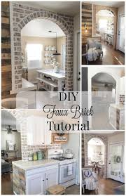 best 25 faux brick walls ideas on pinterest fake brick walls