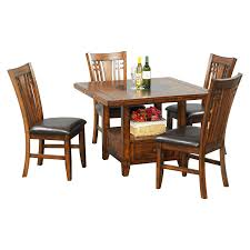 tommy bahama island estate 5 piece dining set with mangrove chairs