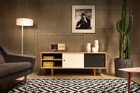 Wohnzimmer Skandinavisch Moderne Retro Möbel Im Skandi Stil
