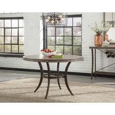 Rustic  Farmhouse Tables Youll Love Wayfair - Round wood dining room tables