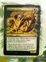 Magic The Gathering Sliver Deck Standard by Altering Commander What To Do When It All Goes Wrong By James