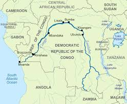 Rivers In Usa Map by The Congo River Got Its Name From The Kingdom Of Kongo Which Was