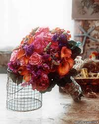 vintage bouquets bouquets with world charm martha stewart weddings