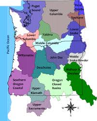 map of oregon and washington map of basins in oregon washington nrcs oregon
