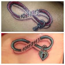 image result for matching ring tattoos for married couples faith
