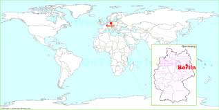 berlin world map where is located in germany inspiring entrancing