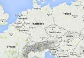map of countries surrounding germany top 10 countries with most number of neighbours