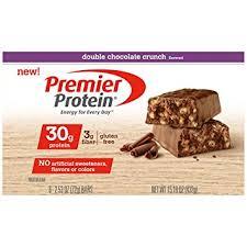 top nutrition bars amazon com premier protein nutrition bar double chocolate crunch
