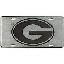 uga alumni car tag pewter license plate ebay