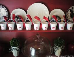 dollar tree craft christmas pails craft o maniac