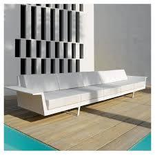 canapé droit 5 places delta canapé extérieur 5 places vondom design j pensi
