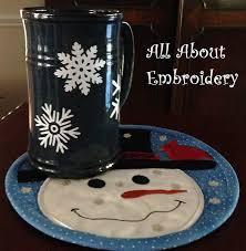 Snowman Rug Snowman Mug Rug For 8 X 8