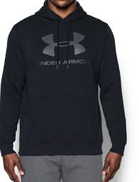 men u0027s ua rival fleece fitted graphic hoodie under armour us
