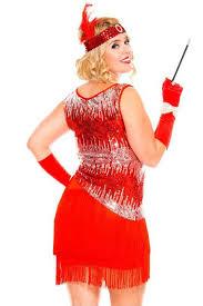 red flapper plus size women u0027s costume 1920 u0027s flapper costume