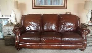 Leather Furniture Make A Leather Couch Look New Again At Home With The Ellingtons
