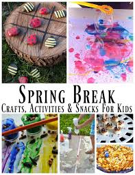 spring crafts activities and snacks for kids round up zippadee