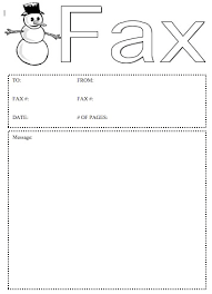 snowman fax cover sheet at freefaxcoversheets net