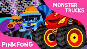 monster trucks videos on youtube monster truck race monster trucks pinkfong songs for children