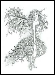 intricate fairy coloring pages free fairy