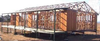 a frame kit house framing a house using prefab frames and trusses