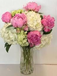 peony arrangement send flowers to dallas tx with roses and more your best florist