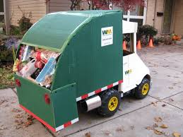 garbage truck halloween costume cardboard creations pinterest