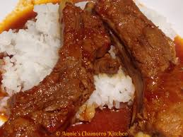 tomato braised pork ribs annie u0027s chamorro kitchen