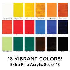 marie u0027s extra fine acrylic set acrylic paint jerry u0027s artarama