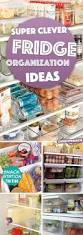 super clever fridge organization ideas nullifying all the clutter