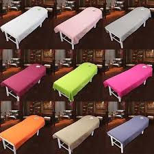 massage table with hole colorful beauty bed sheet massage table cover 190cm 120cm with face