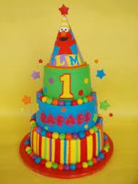 elmo birthday cakes elmo party hat 1st birthday cake rafael turned one and par flickr
