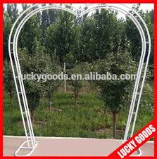 wedding arch for sale customized heart shape metal garden wedding arch wholesale view