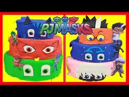 pj masks birthday cakes u2013 toy surprises pj masks superheroes