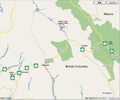 Trans Canada Highway Map by Where Is Chatter Creek Where Is Chatter Creek