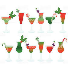 christmas cocktails vintage best hd christmas cocktail clip art vector drawing free vector