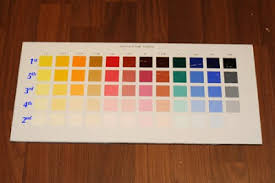the painting experiment how to make color charts the richard