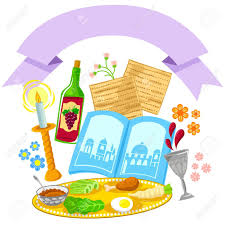 passover items items related to passover with a decorative blank banner royalty