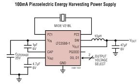 ltc3588 1 nanopower energy harvesting power supply linear