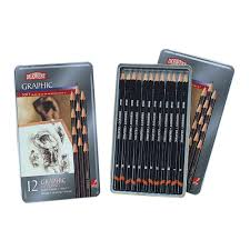 derwent graphic sketching pencils soft 12 pack officeworks