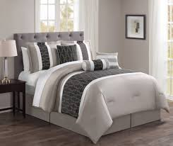 7 piece lenox coffee beige comforter set