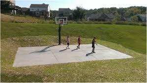 backyards trendy basketball backyard court outdoor basketball