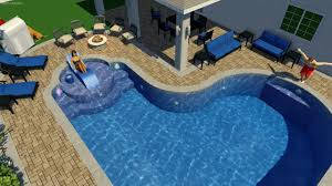 catalano custom inground pool with awesome steps youtube