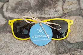 sunglasses wedding favors sunglasses as a cool wedding favor at this wedding in mexico