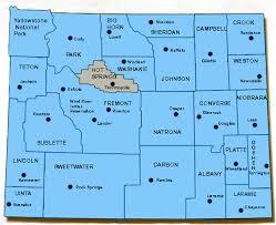 map of thermopolis wyoming thermopolis roundtop sams